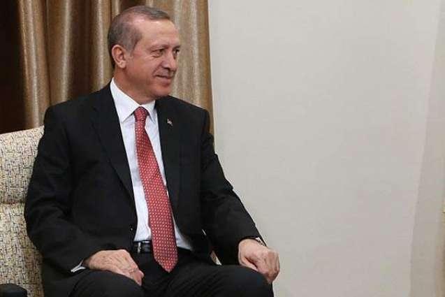Erdogan meets Pakistan's parliamentary delegation