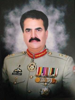 Army Chief visited front bridgeheads in Khyber Agency