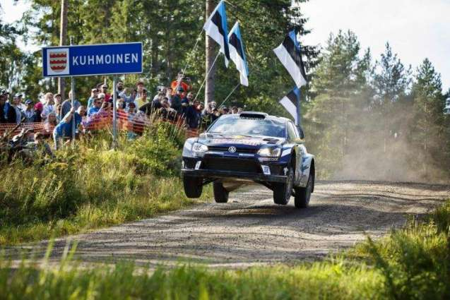 Rallying: Mikkelsen storms to German lead in VW