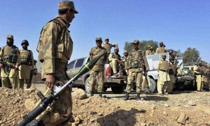 بلوچستان وچ کومبنگ آپریشن، 27 ملکی و غیر ملکی دہشتگرد گرفتار