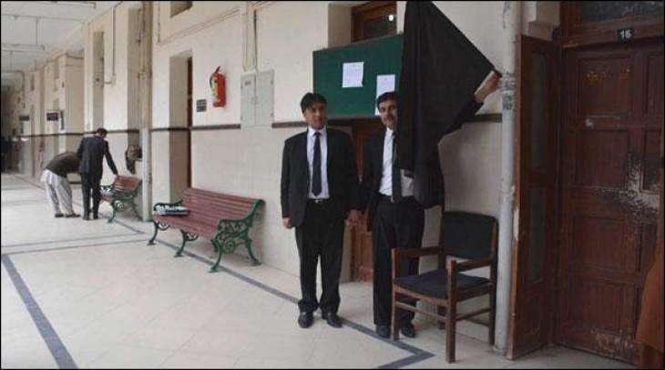 کوئٹہ: کوئٹہ دُکھانت خلاف وکیلاں دا12 ویں دیہاڑ وی عدالتی بائیکاٹ