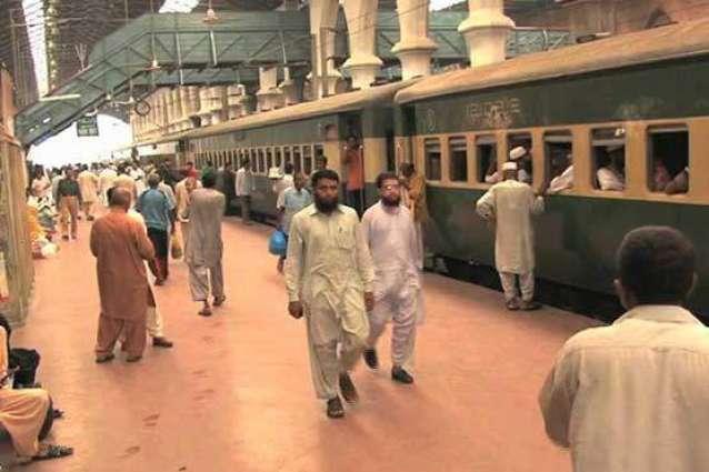CEO Pakistan Railway visits Azadi Train