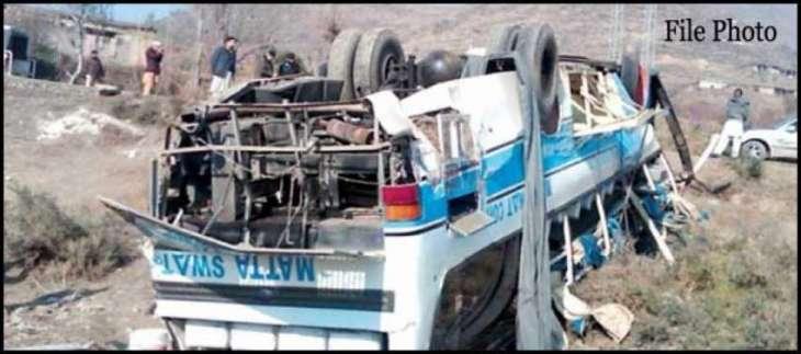 Three die, 25 hurt in Khuzdar road mishap