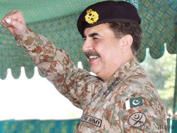 رئيس أركان الجيش الباكستاني يعرب عن ارتياحه حول إنجازات العملية العسكرية