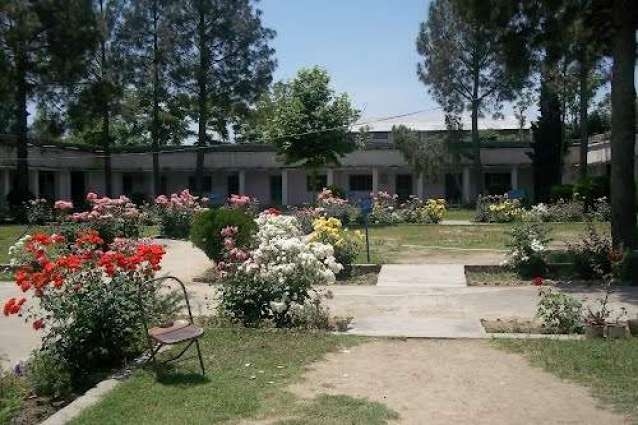Lieutenant Colonel addresses to Students of first year in Lower Dir