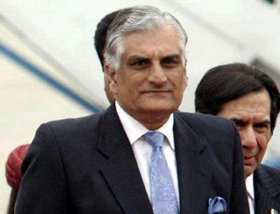 پاکستان اولی بار اووراوشن کانفرنس ءَ بہر زوریت، بنجاہی وزیر برائے موسمیاتی بدلی زاہد حامد