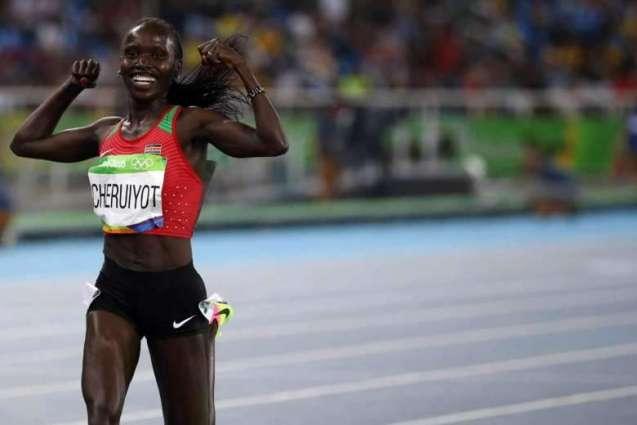 Olympics: Kenyan Cheruiyot trumps Ayana for 5000m gold