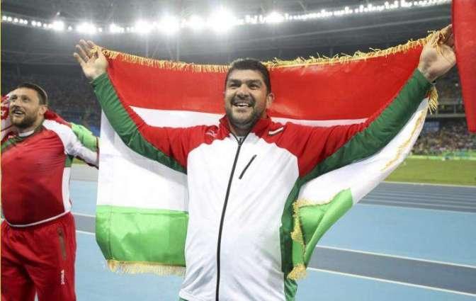 Olympics: Nazarov wins hammer for Tajikistan's first medal
