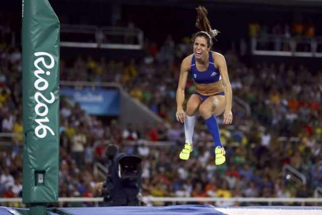 Olympics: Greece's Stefanidi wins women's pole vault gold