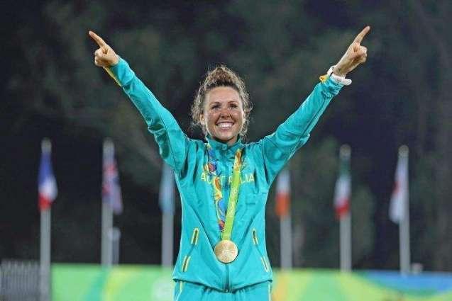 Olympics: Australia's Esposito wins women's modern pentathlon gold