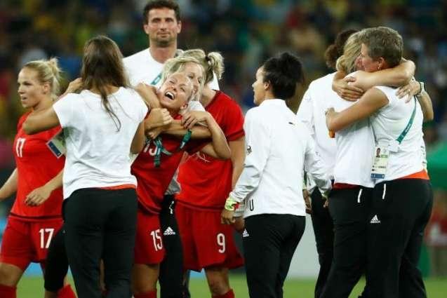 Olympics: German women give coach Neid golden goodbye