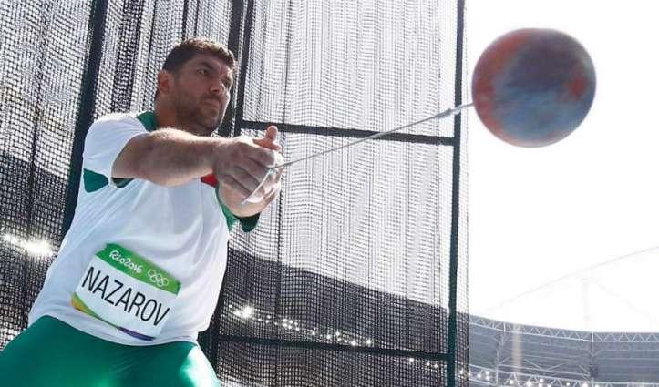 Olympics: Nazarov wins hammer for Tajikistan's first gold medal