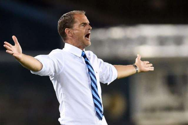 Football: De Boer admits Inter job will take time after losing start