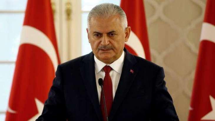 شام دی نسلی بنیاداں تے ونڈ قبول کائنی، ترک وزیر اعظم