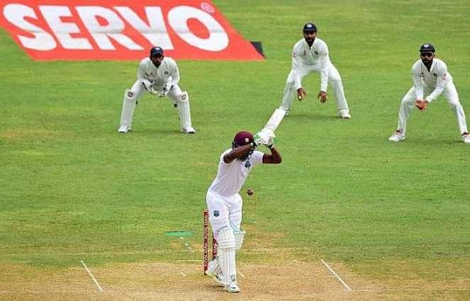 ویسٹ انڈیز تے بھارت وچال چھیکڑی ٹیسٹ دا چوتھا ڈینھ وی مینھ دی نذر ،پاکستانی ٹیم دا پہلی دفعہ نمبر ون ٹیم بنڑ ونجنڑ یقینی
