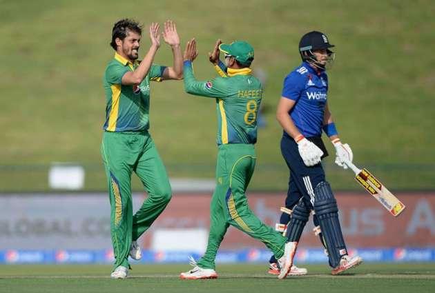 پاکستان تے انگلینڈ دی کرکٹ ٹیماں وچال پہلا ون ڈے (کل)کھیڈیا ویسی