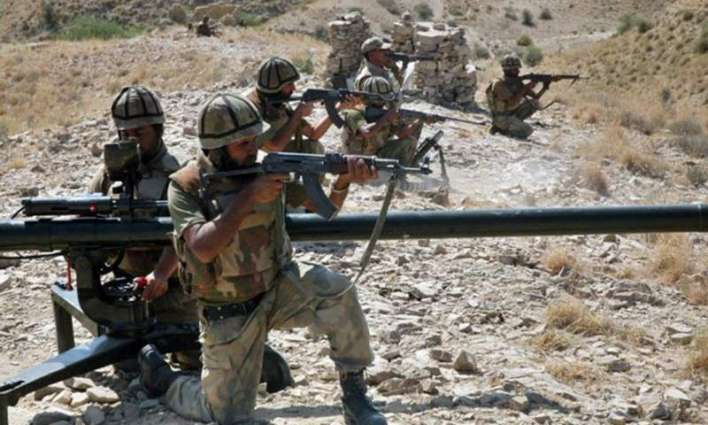 40 terrorists killed, 21 injured, 43 hideouts destroyed in Khyber Op.