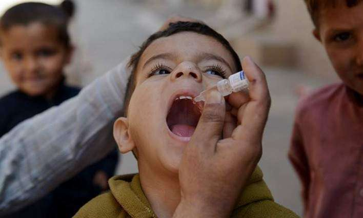 Anti-polio drive beings in Faisalabad