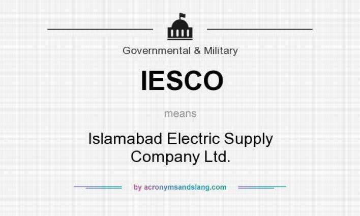 IESCO issues power suspension programme