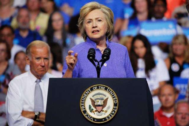 Clinton ready for 'wacky' debate with Trump