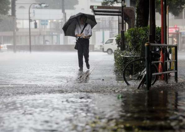 Typhoon Mindulle dumps heavy rain on northern Japan