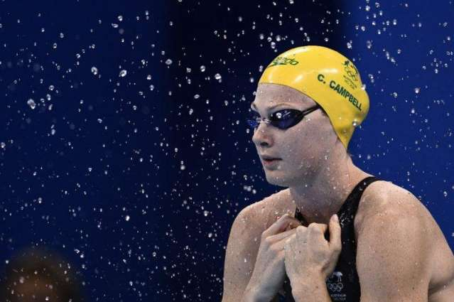 Olympics: Australia's Campbell swam with hernia: report