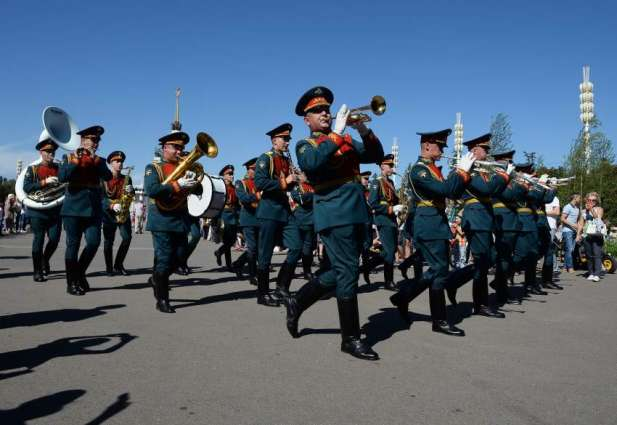 Military Music Festival has begun in Russia