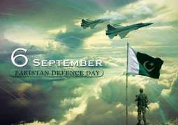 Pakistan Defense Day ceremonies has begun today