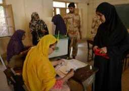 Polling for by-poll in PS-127, Karachi-39 underway