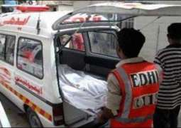 Kandhkot: Passenger van hit motorcycle, 2 people kille and 1 injured