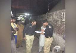 34 suspects arrested in search operations in Lahore and Multan