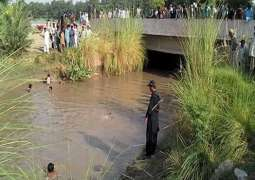 Ghotki: 5 family members drowned after car fell into canal
