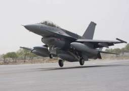 Pak F-16s conduct drills to counter possible Indian attack