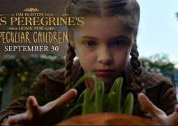 "Adventure fantasy ""Miss Peregrine's home for peculiar children"" releasing on September 30"