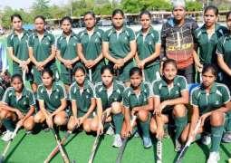 Pakistan Women Hockey team arrived in Bangkok