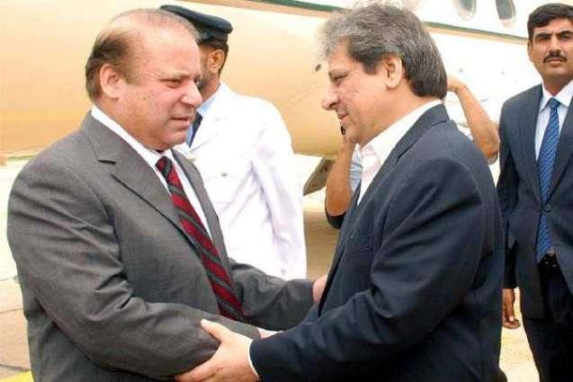 Prime Minister arrived in Karachi on 1-day visit