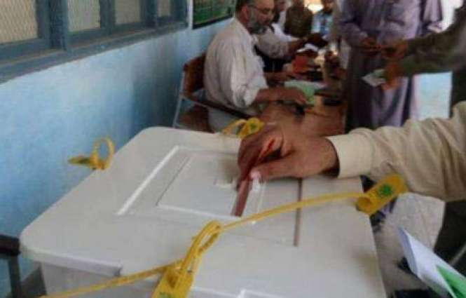 Polling for Local Govt by-election is underway on in KP