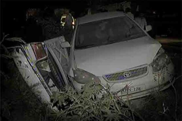 Four Killed In Accident Near Sangjani Toll Plaza Pakistan Point