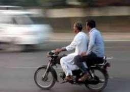 Islamabad: Pillion riding to ban tomorrow