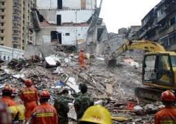 China: 4 residential buildings collapsed, 8 people killed