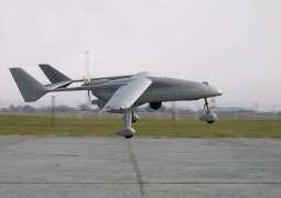PAF drone crashes in Sargodha