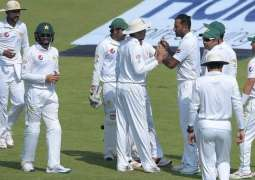 West Indies 38-3 against Pakistan at Lunch