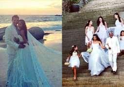 Lisa Haydon marries Pakistani-born boyfriend Dino Lalvani