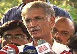 'PTI workers will remove all barriers': Khattak