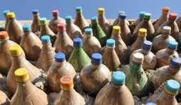 Rahim Yar Khan: House made of plastic bottles