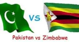 پاکستان و زمبابوے اے نا نیام اٹ ارٹ میکو و آخریکو چار دے ئی کرکٹ میچ (اینو) بناء کیک