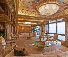 Pictorial Tour of Donald Trump's Opulent Penthouse