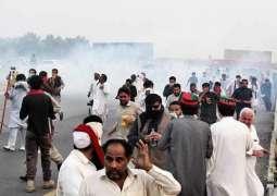 بدترین شیلنگ دے نتیجے وچ پاکستان تحریک انصاف دے 2کارکن ہلاک