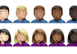 Life is going to be more expressive with Apple's new iOS 10.2 facepalm emoji