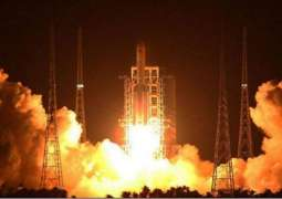 China launched first and the largest rocket in space